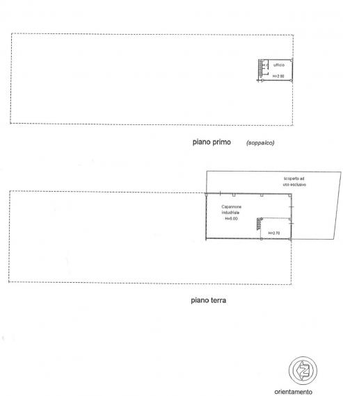Cartoceto - capannone in locazione