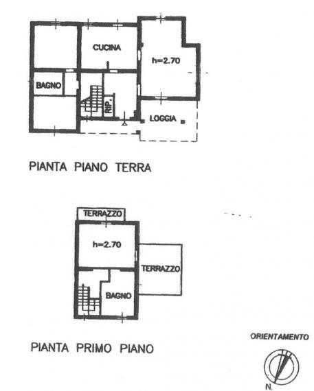 Fano - zona caminate - unifamiliare villa in vendita