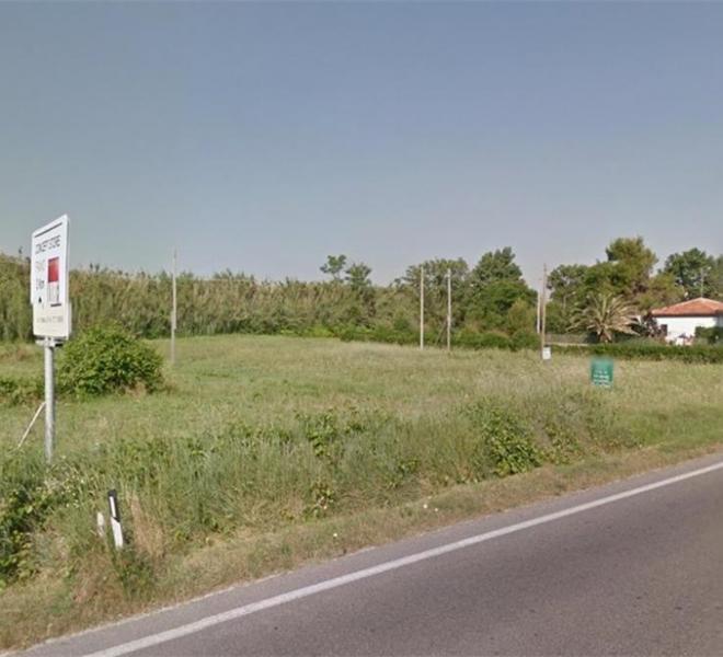 Fano - zona metaurilia - terreno in vendita