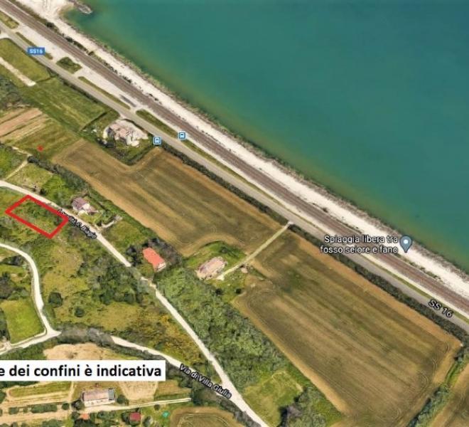 Fano - zona san biagio - terreno in vendita