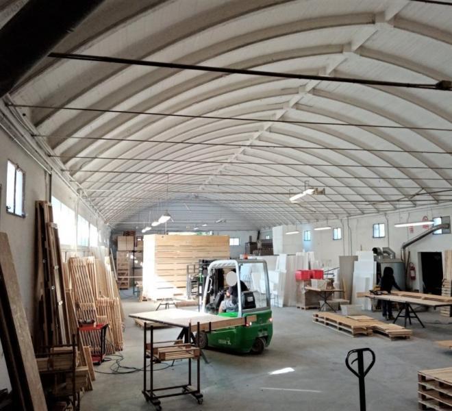 Sant'ippolito - zona - capannone in vendita
