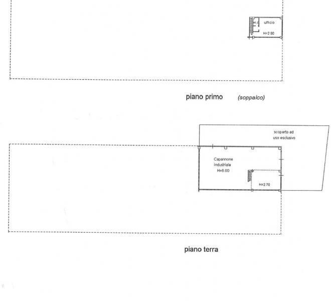 Cartoceto - zona - capannone in locazione