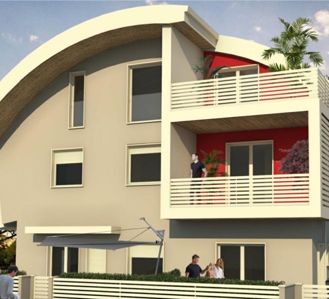 Fano - zona poderino - attico mansarda in vendita